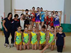Ginnastica ritmica: le atlete e le educatrici del Comitato UISP Senigallia