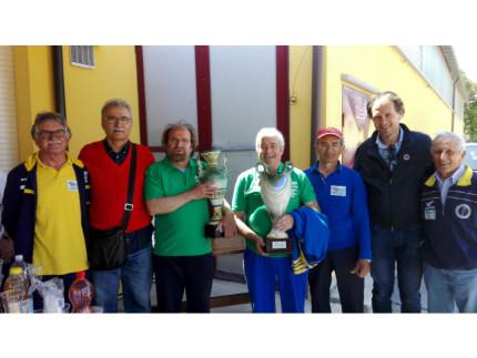 Campionato regionale individuale di ruzzola: premiazioni