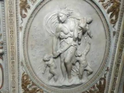 Gli stucchi di palazzetto Baviera a Senigallia, realizzati da Federico Brandani