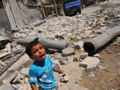 La guerra in Siria, conflitto armato in cui sono rimasti coinvolti e uccisi dei bambini