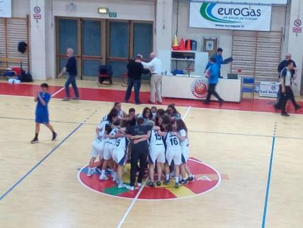 Basket 2000 Senigallia promosso in serie B