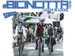 Il volantino della 31esima edizione di Bicincittà, l'iniziativa della Uisp