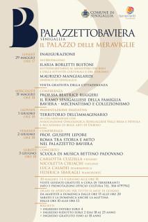 Il programma delle iniziative di Palazzetto Baviera
