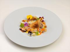 Guazzetto di Mare con Crema di Zucca - ricetta di Samuele Servadio