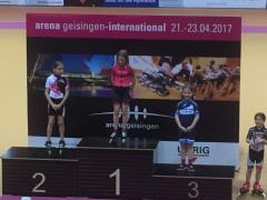 Camilla Zazzarini sul podio più alto