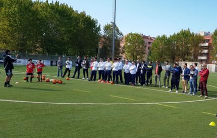 i tecnici del Centro Federale Svizzero del Team Ticino, sono ospiti dell'Fc Senigallia