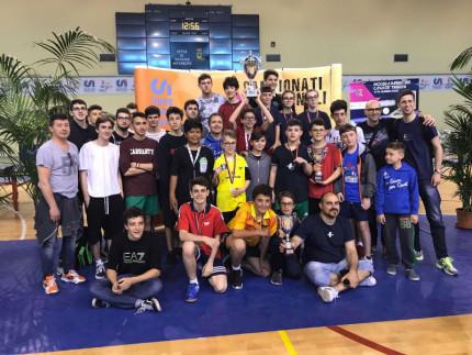 Campionati italiani Csi di tennistavolo