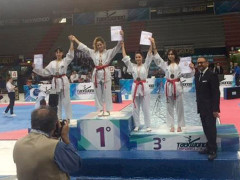 Soddisfazione per la Allblacks Taekwondo grazie al podio di Asia Lanari che ha conquistato a Bari il primo posto