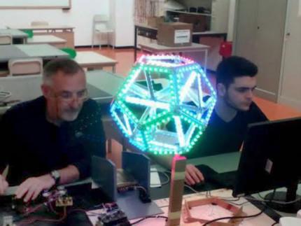 Lo studio dei solidi platonici all'Istituto Padovano in vista di Fosforo, la festa della scienza