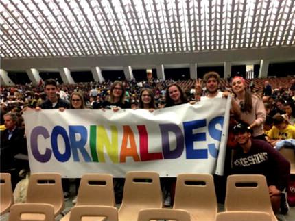 Studenti del Corinaldesi in Vaticano