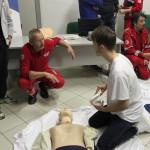 Corso di rianimazione e pronto soccorso dei bagnini di salvataggio grazie alla Croce Rossa di Senigallia