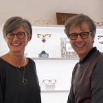 Sonia Fileri e Luciano De Palo, titolari di Optovolante