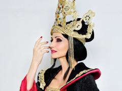 Lorella Cuccarini al teatro La Fenice di Senigallia