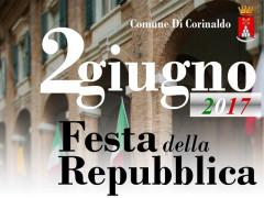 Corinaldo festeggia il 2 Giugno: il manifesto