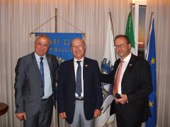 "Rotary Club Senigallia: il ""Paul Harris Fellow"" a Massimo Spadoni Santinelli"