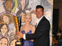 La premiazione dello sportivo dell'anno 2017 al Foro Annonario di Senigallia: il premio va a Martina Amadei