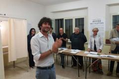 Matteo Principi soddisfatto del risultato eleltorale alle elezioni comunali 2017 di Corinaldo