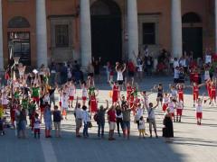 Festa Maior in piazza Garibaldi