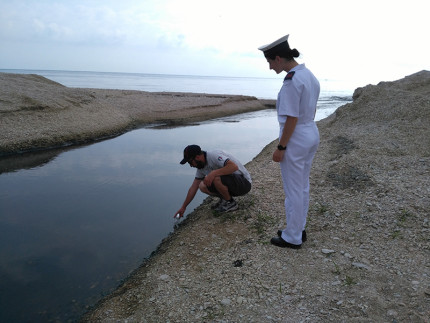 Controlli ambientali alla foce del fiume Cesano