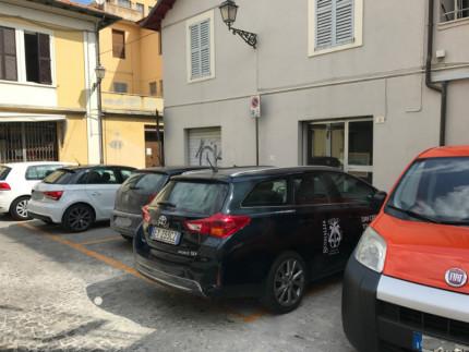 L'auto di rappresentanza del comune di Senigallia