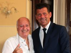 Vittorio Zito con Maurizio Mangialardi