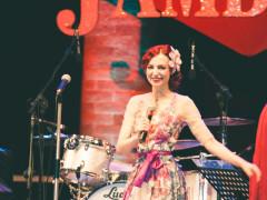 Eve La Plume al Summer Jamboree di Senigallia