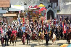 Sbandieratori a Visegrad