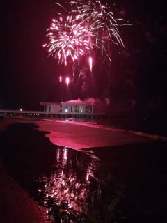 Fuochi d'artificio per la Notte della Rotonda 2017: foto di Simonetta Santini