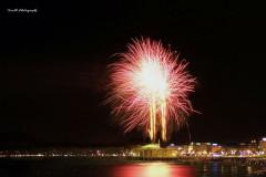 Fuochi d'artificio per la Notte della Rotonda 2017: foto di Stefano Tonelli