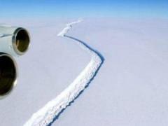 Un continente alla deriva quello che i è staccato in Antartide