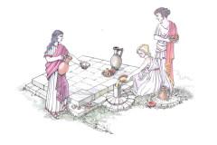 Logo delle iniziative culturali del consorzio Città romana di Suasa