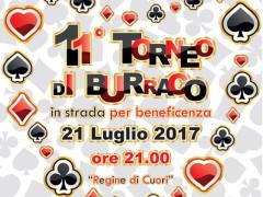 """La locandina dell'11a edizione del torneo """"Regine di Cuori"""" promossa dalla Croce Rossa di Senigallia"""
