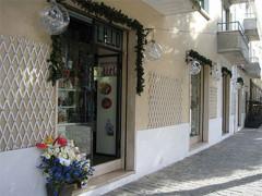 Il negozio Lillo Casalinghi di Attilio Corleoni in via Carducci, a Senigallia