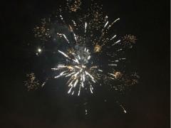 Festa della Polenta, fuochi