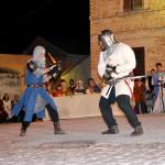Duelli medievali alla Festa Castellana di Scapezzano