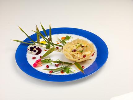 Cestini di gemogli di bamboo - ricetta di Pierino Angelucci