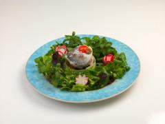 """Filetto di orata """"sapori e colori dell'orto"""" - ricetta di Ennio Mencarelli"""