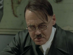 Bruno Ganz interpreta Hitler