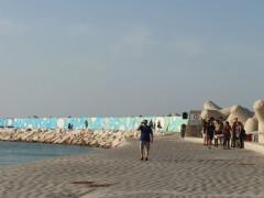 Murales al porto di Pesaro