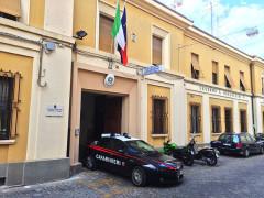 La caserma dei Carabinieri della Compagnia di Senigallia, in via Marchetti