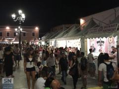 Piazza del Duca a Senigallia durante il Summer Jamboree