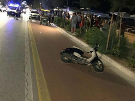 Incidente stradale: auto contro scooter. Centauro in ospedale