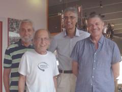 Domenico Ubaldi, Enzo Pettinelli, Enzo Ceresi e Leonardo Di Rosa