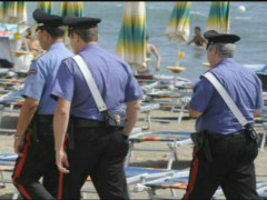 Carabinieri in spiaggia