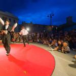 Lo spettacolo Mago per Svago al Festival NotteNera 2017 a Serra de' Conti: foto di Lorenzo Fabbri