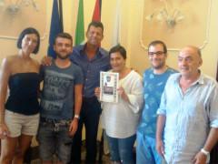 Ricevuta in Comune a Senigallia la famiglia D'Ammora di Roma