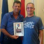 Ricevuto in Comune a Senigallia un turista milanese da 27 anni sulla spiaggia di velluto