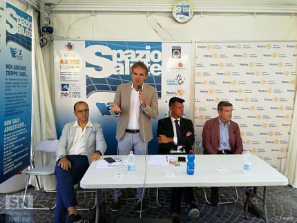 """Tappa a Senigallia del punto di informazione """"Spazio Salute"""""""