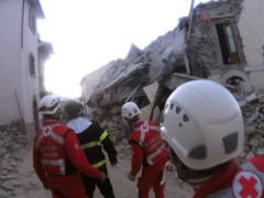 Terremoto, Croce Rossa