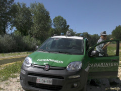 Indagini alluvione di Senigallia: sopralluogo Carabinieri Forestali su alveo del Misa
